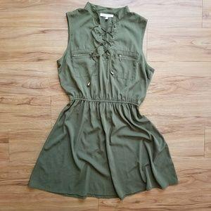 Speed Control Green Dress